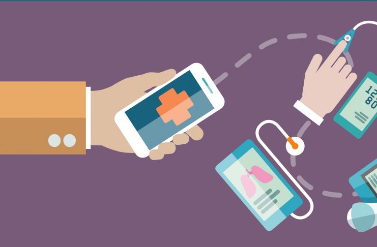 infografica sui tool di mobile health