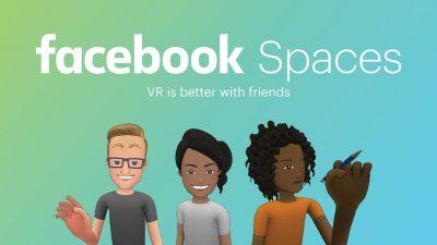 facebook spaces in VR