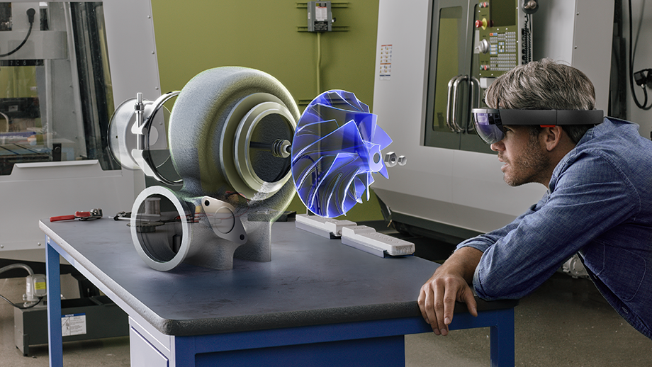 mixed reality on microsoft hololens