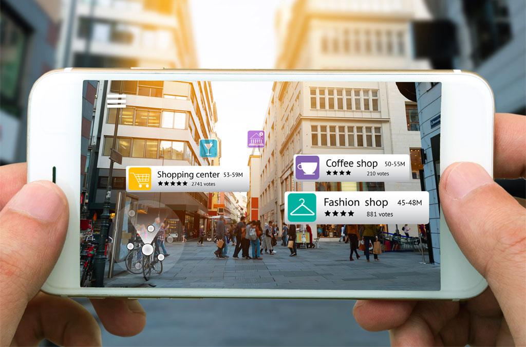 realtà aumentata su device