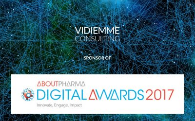 Vidiemme sponsor degli AboutPharma Digital Awards 2017