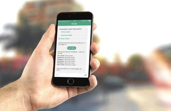 KeBot applicazione Chatbot di Vidiemme per Roche