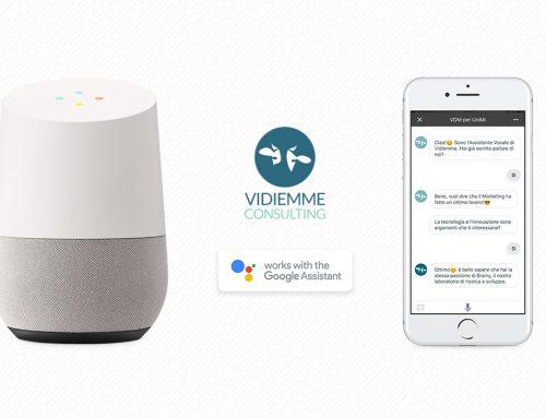 """Apri Google Assistant e parla con """"Vidiemme per Unimi""""!"""