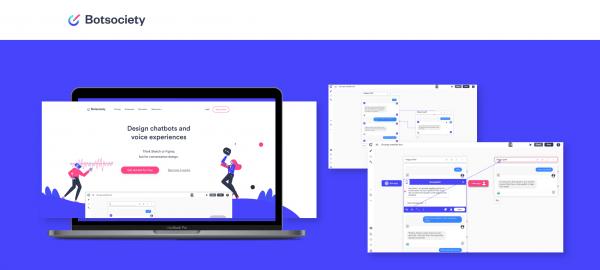 La piattaforma Botsociety per il design delle interfacce conversazionali