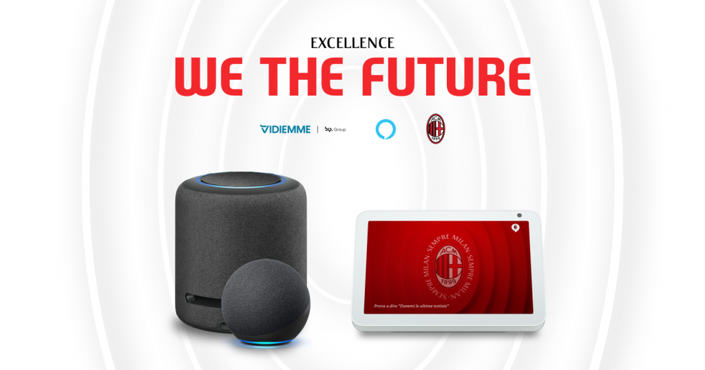 Amazon Echo e la Skill di AC Milan