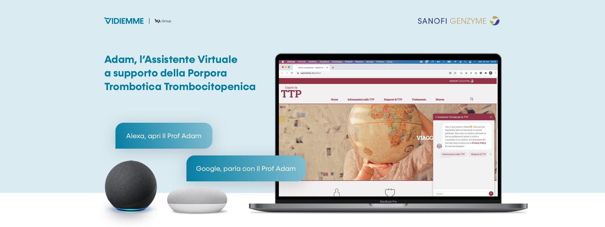Virtual Asistant per l'interazione scritta e vocale con gli utenti